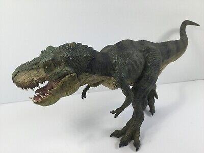 Papo TYRANNOSAURUS - 2012 Running T-Rex Dinosaur GREEN