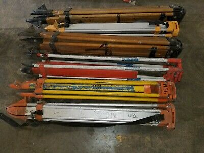 Heavy Duty Tripods For Laser Leveling And Construction Wood And Aluminum