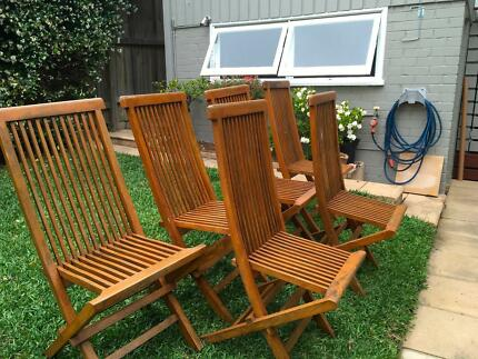 Outdoor dining chairs -6