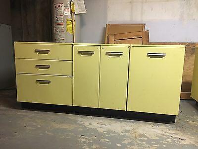 1959 Vintage General Electric Kitchen Cabinets