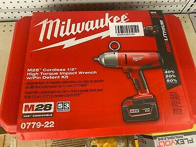 Milwaukee M28 28v Cordless 12in. Impact Wrench Kit 0779-22