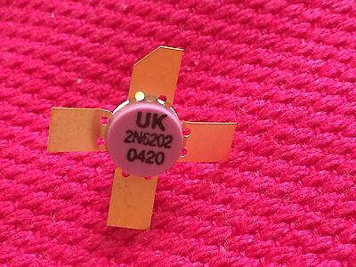 2n6202 Bipolar Npn Uhfmicrowave Transistors Lot Of 2