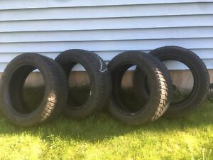 4 used 205/55r16 Tires