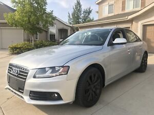 2012 Audi A4 ALL WHELL DRIVE Low km Clean title
