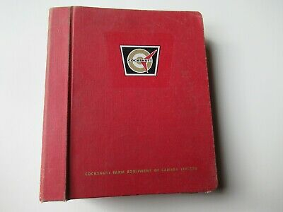 White Tractor Service Bulletins Assembly Instruction Manual 1755 4-150 2-155
