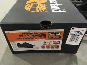 Timberland Pro safety shoes, size 9
