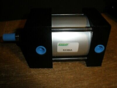 Speedaire 6x386 Air Cylinder 2-12 Bore 1 Stroke Double Acting 12-20 Rod Usa