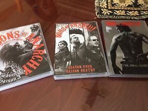 SÉRIES SONS OF ANARCHY #3, 4, 7