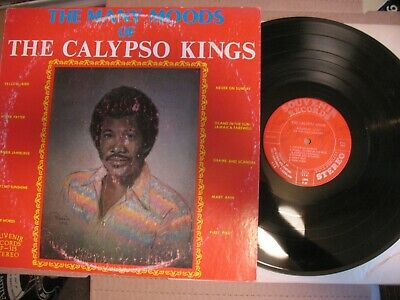 The Calypso Kings - Many Moods Of - LP Rudy Johnson Signed 1970s