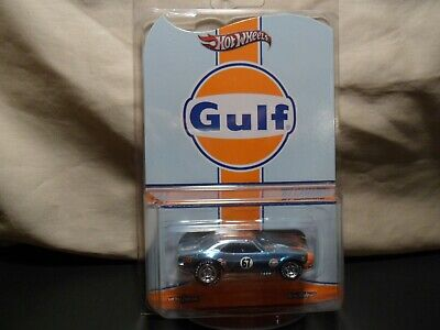 HOT WHEELS RLC GULF '67 CAMARO 3873/4500 IN PROTECTO FREE SHIPPING