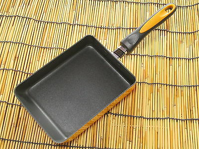 "induction heat""FRYING PAN""TAMAGOYAKI NON-STICK COOKING JAPANESE SQUARE Egg Omlet"