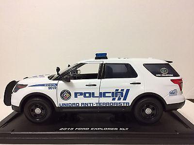 1/18 Puerto Rico Police : Anti -Terrorismo Unit .Water Decals Premium. New !