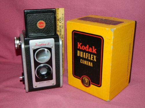 Vintage Kodak DUAFLEX II Camera No. 40 W/ original box - Nice Condition