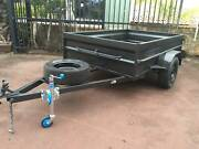 Box Trailer 8x5 High Side Heavy Duty 12 months pvt Rego on Road $ Minchinbury Blacktown Area Preview