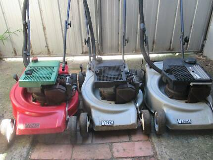 Victa 2-stroke Lawn Mowers with Catchers 3 to choose from $85ea
