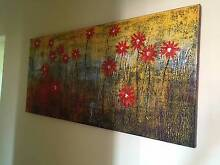 Hand painted mounted art from Bali Scarborough Stirling Area Preview