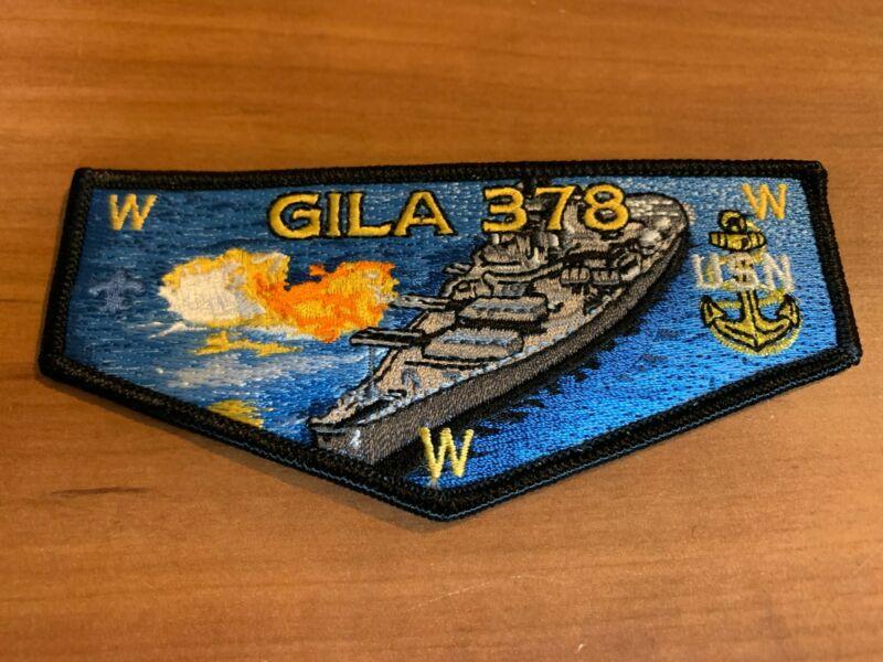 OA, Gila (378) United States Navy (USN) Battleship Flap (S-188), 300 Made