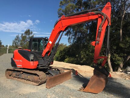Kubota KX080-3 Excavator for sale Nerang Gold Coast West Preview