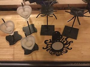 Metal candle holders/stand