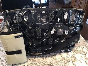 Authentic Kate Spade Diaper Bag with change pad