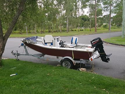 3.8 Metre fibreglass boat