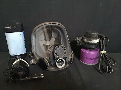 3m 6900 Full Face Respirator With Battery