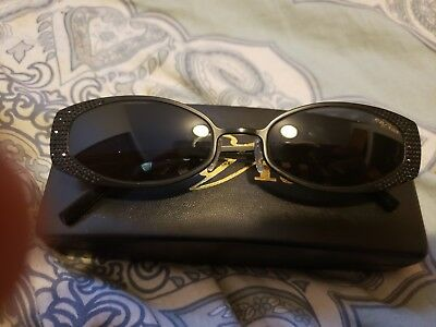 612c0d81b5e9 CAVIAR Sunglasses M4840 Black Frame C24 53/18 135 Over 100 Crystals Sold Out