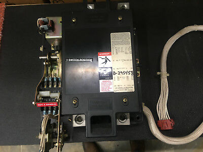 Asco 240v 2 Pole 225 260 Amp Open Contactor W Kohler Wiring Tested Version 2