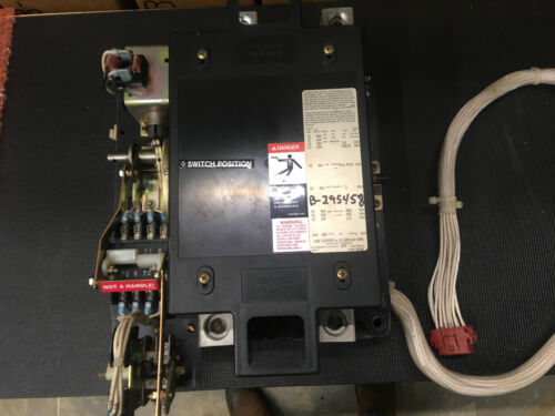 ASCO 240V 2 Pole 225 / 260 AMP  Open Contactor w/ Kohler Wiring Tested Version 2