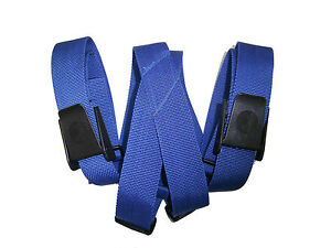 Weight-Belt-Suspenders-Scuba-Diving-Dive-Equipment-New-WB80-Blue