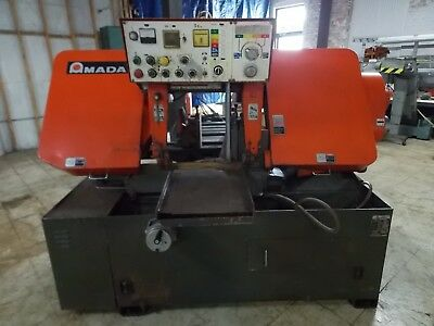 Amada Ha-400w Automatic Horizontal Band Saw