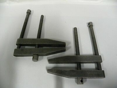 Vintage C Type Toolmaker Machinist Parallel Clamps A8