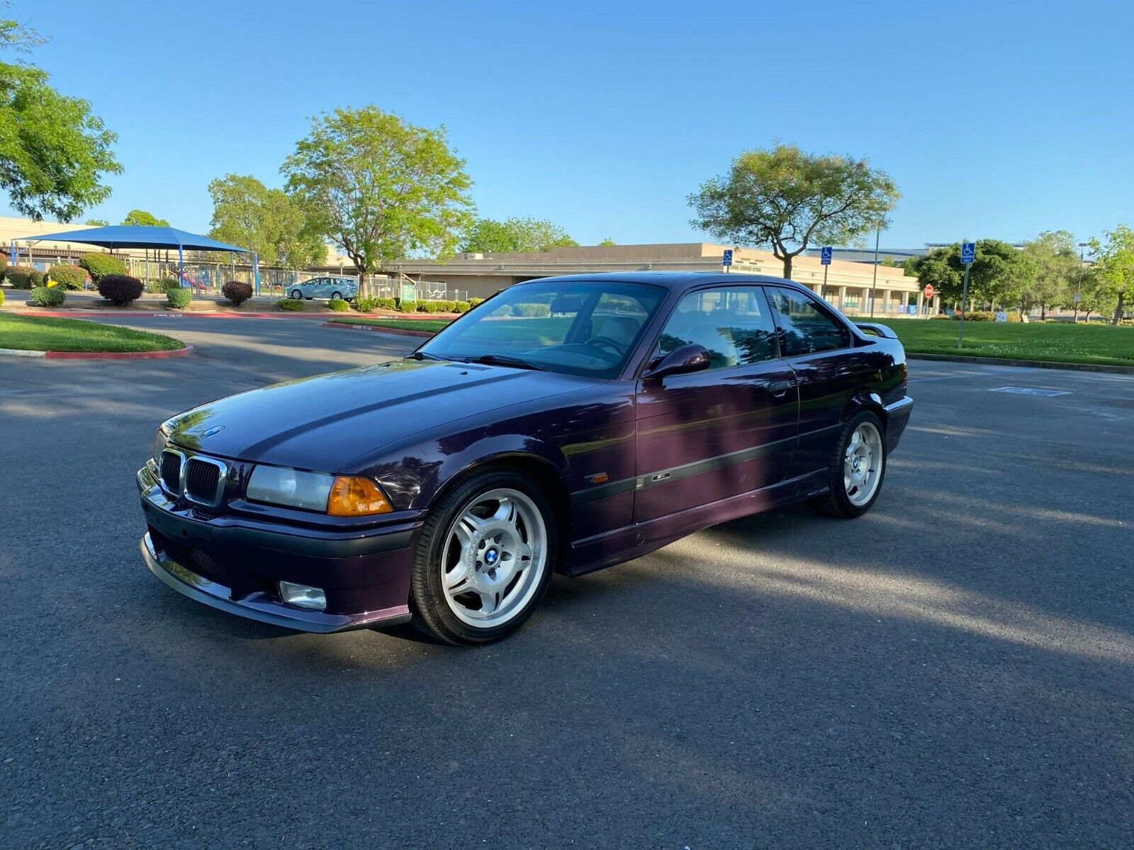 1995 BMW M3 E36 Daytona Violet Supecharged 17