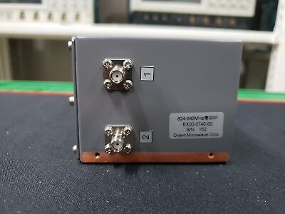 Orient Microwave - Band Reject Filter Ex00-0740-00 824-849mhz