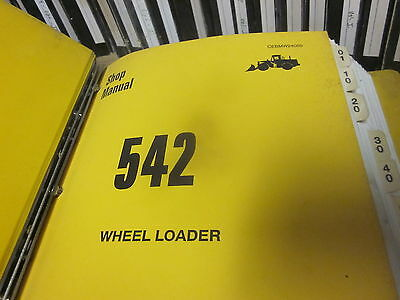 Dresser 542 Wheel Loader Service Manual