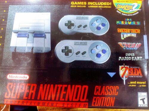 SNES Super Nintendo Classic Edition Mini Console System 21 G