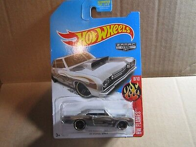 '68 Dodge Dart * Zamac * 2017 Hot Wheels * HW FLAMES