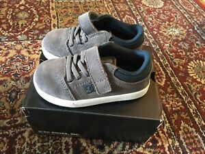 DC Shoes toddler suede sneakers size 8 & size 9