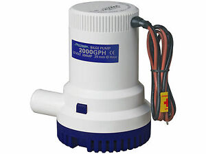 MARINE-ELECTRIC-BILGE-PUMP-12V-2000GPH-FOR-BOAT-CARAVAN-RV-FIVE-OCEANS