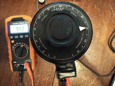 General Radio Variac Type 200c Variable Transformer Powerstat 200-c 0-120v