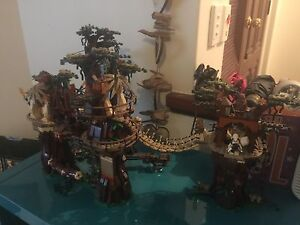 Lego Ewok Village, opened and built. I have box and instructions. Hamilton Hill Cockburn Area Preview