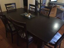 6 seater dining table Toowong Brisbane North West Preview