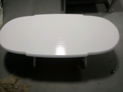 White Solid Coffee Table