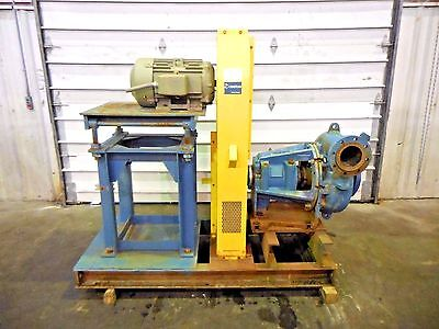 Rx-3611 Metso Mm200 Fhc-d 8 X 6 Slurry Pump W 15hp Motor And Frame