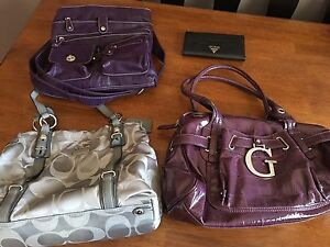 Coach/guess purses and wallet (prices in description)