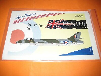 AEROMASTER DECALS HUNTER 1/48 AMD48347
