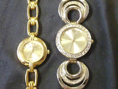 Cote d' Azur  and George Ladies Fashion Watches -Lot of 2