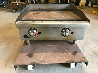 Star 624tf Star-max 24 Thermostatic Gas Countertop Griddle 1 Plate 56600 Btu