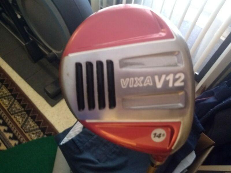 vixa v12 golf club 14.5 degree rh regular flex head cover included