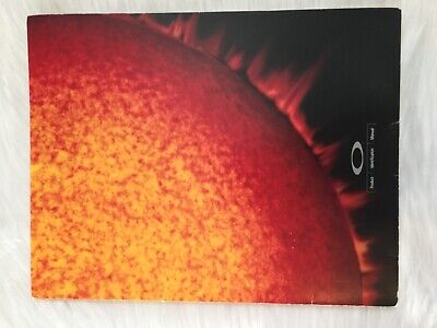 RARE Oakley (Sales Rep) Catalog Brochure Circa 98/ 99 RARE NLA Collectors (Oakley Catalog)